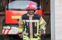 آتشنشانان کرجی کمتر از ۵ دقیقه به محل حادثه می رسند