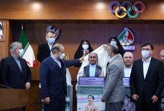 از تندیسهای 5 تن از قهرمانان افتخار آفرین ورزش کشور رونمایی شد