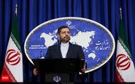 ابراز همدردی سخنگوی وزارت امور خارجه با ملت اوکراین