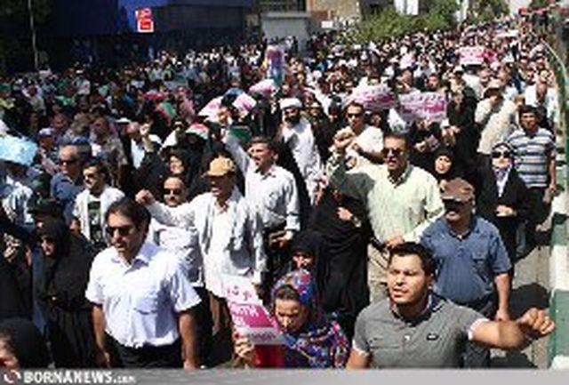 بازتاب حضور گسترده ایرانیها در راهپیمایی روز قدس در رسانههای خارجی