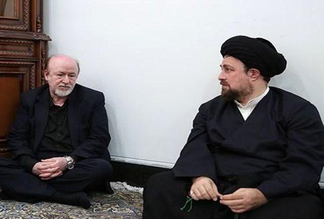 دیدار مدیرعامل استقلال با یادگار امام+عکس