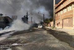 ورود دادستانی به آتشسوزی کارخانه صنایع شیمی مولدان قم