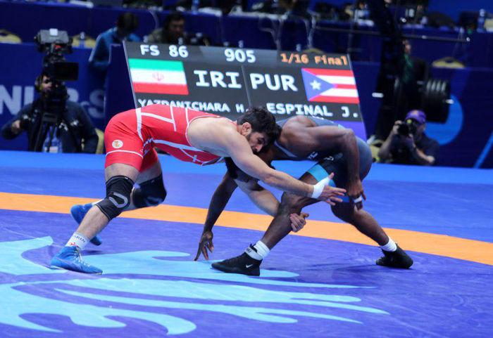 احسانپور و یزدانی امروز در مرحله نیمه نهایی به میدان میروند