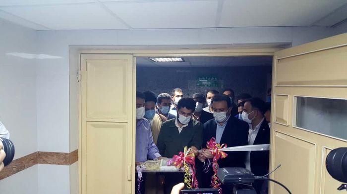 بخش داخلی(۲) بیمارستان امام علی(ع) اندیمشک به بهره برداری رسید