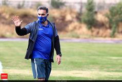 سرمربی استقلال خیال هواداران را راحت کرد+ عکس