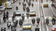 واژگونی موتورسیکلت در آزادگان