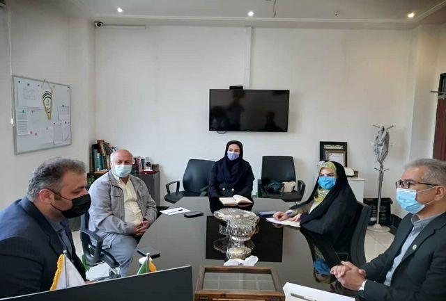 دیدار مدیر کل ورزش و جوانان استان اردبیل با رییس فدراسیون اسکیت