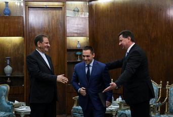 دیدار وزیر اقتصاد بلغارستان با معاون اول رییس جمهوری