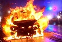 در موقع دیدن شعلههای آتش در خودرو چه کنیم؟