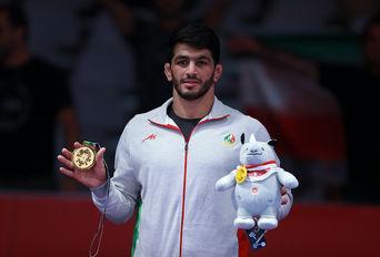 مدال طلای حسن یزدانی / بازیهای آسیایی۲۰۱۸ جاکارتا