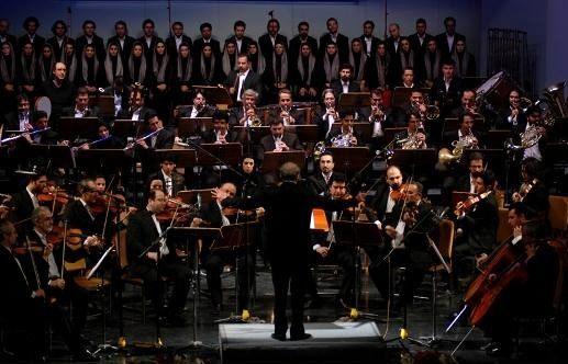 ارکستر سمفونیک صدا وسیما می نوازد/ببینید