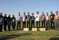 قهرمانی تیراندازی یزدی در مسابقات تیراندازی با کمان رنکینگ کشوری آقایان