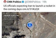 آمریکا: تصاویری داریم که ایران ماهواره پرتاب می کند