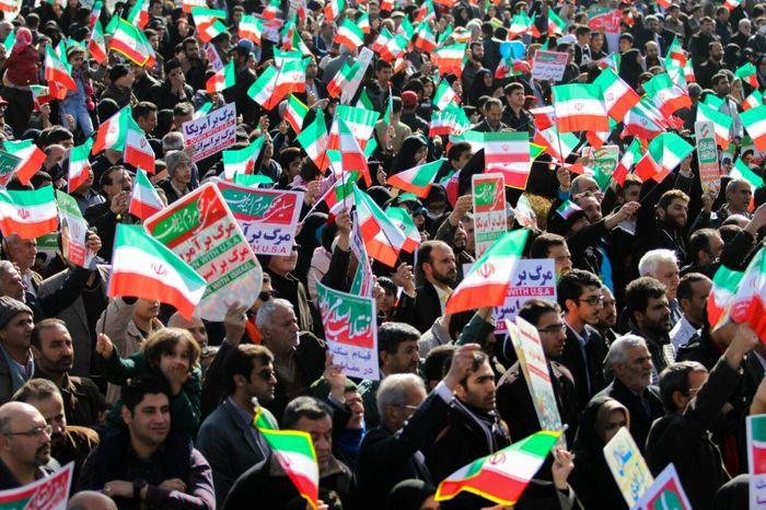 راهپیمایی ۲۲ بهمن  در ۱۵۹  نقطه استان برگزار می شود