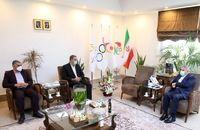 ملایی با رئیس کمیته ملی المپیک دیدار و گفتوگو کرد