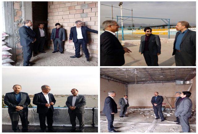 بازدید مدیرکل دفتر فنی وزارت ورزشوجوانان از آکادمی ملی اسکیت آزادی