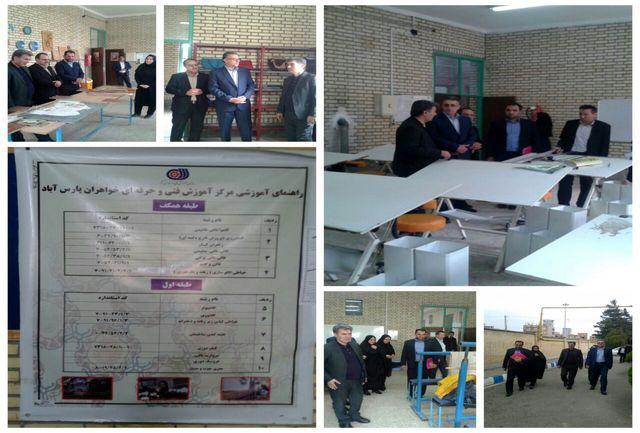 برگزاری دوره های آموزش فنی و حرفه ای برای ۱۵۰۰ نفر از کارآموزان در مراکز آموزش فنی و حرفه ای
