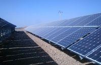بهرهبرداری از نیروگاه خورشیدی درودزن