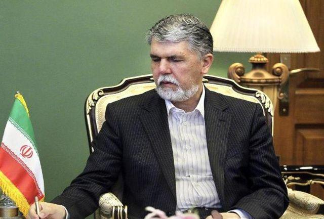وزیر ارشاد انتخاب قزوین به عنوان شهر خلاق فرهنگ و هنر را تبریک گفت