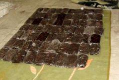 کشف 123 کیلو تریاک در یک عملیات مشترک پلیسی