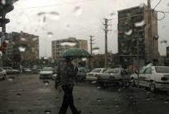 استمرار بارش باران در برخی نقاط کشور و افزایش دمای پایتخت