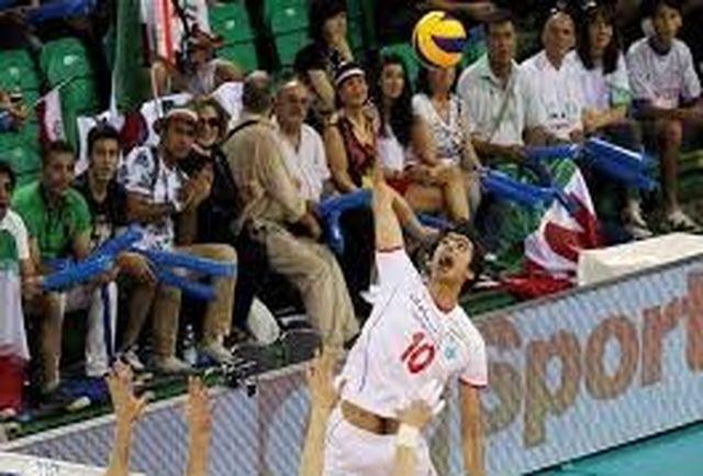 سوت والیبال امید آسیا در زمین اردبیل