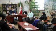 دبیر انجمن مردم نهاد سفیران جوان زندگی از سرپرست فرمانداری بهارستان تجلیل کرد