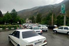ترافیک فوق سنگین در معابر اصلی تهران