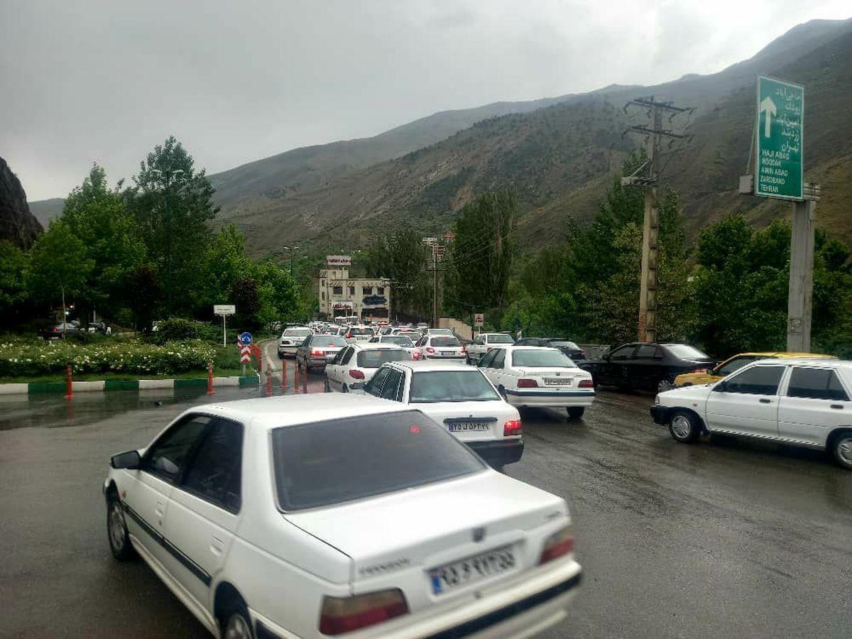 ترافیک در معابر پایتخت