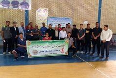 قهرمانی نونهالان خوزستانی در مسابقات هندبال منطقه ۷ کشور+ببینید