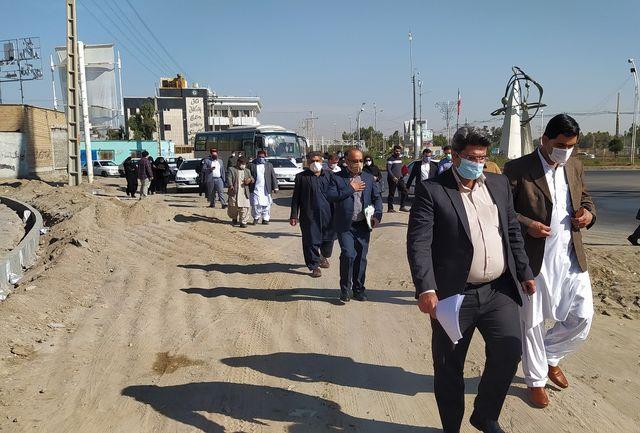 کاروان رسانه ای مطالبه گری از مسئولین در زاهدان راه افتاد
