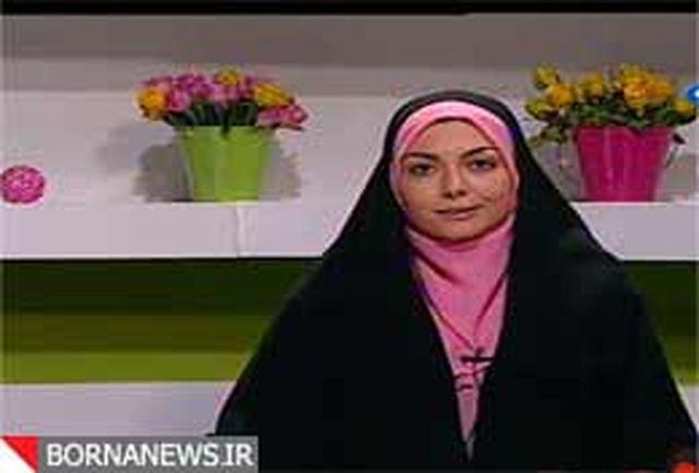 سوتیهای مجری خانم صداو سیما ادامه دارد+فیلم