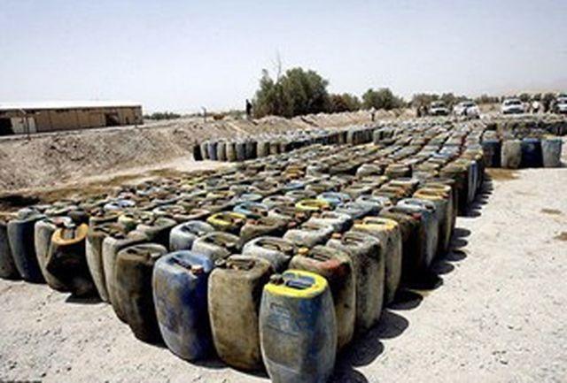 کشف بیش از 3 میلیون و 950 هزار لیتر سوخت قاچاق در سیستان و بلوچستان