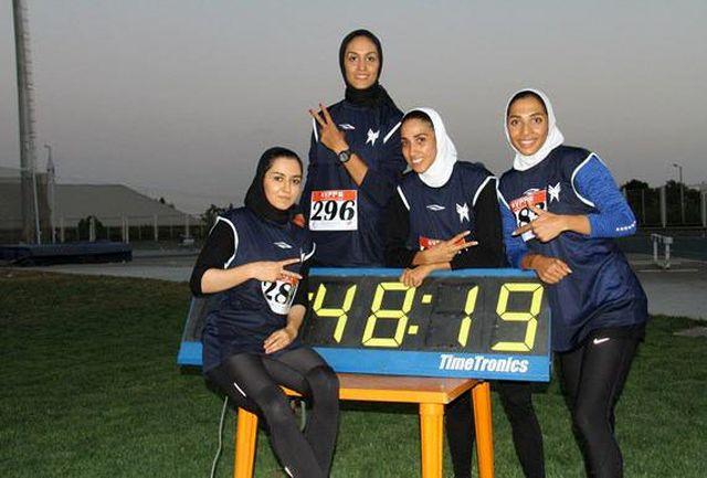 رقابتهای دوومیدانی بانوان مرحله اول قهرمانی باشگاههای کشور برگزار شد
