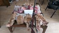 دستگیری شکارچی ۱۰ حیوان