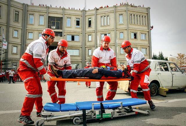 امدادرسانی هلال احمر به ۴۶۰ حادثه دیده در طرح امداد و نجات نوروزی
