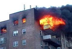 سوختگی ۹۰ درصد اعضای یک خانواده بر اثر انفجار