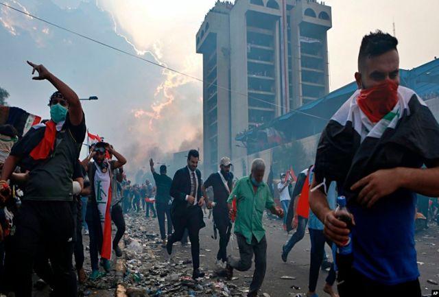 منشأ اعتراضات اخیر عراق کجاست؟