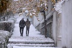 بارش باران و برف در استان البرز / احتمال وقوع سیل