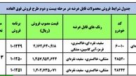 آغاز فروش فوق العاده مرحله دوم ایران خودرو ویژه شهریورماه + جزئیات و لینک ثبتنام
