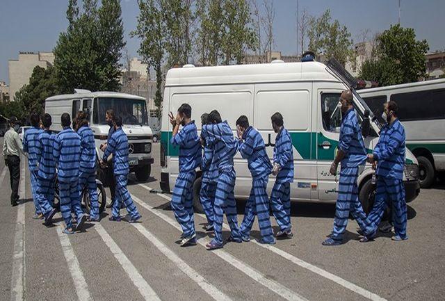 دستگیری 9 نفر از عاملان سرقتهای به عنف و مسلحانه سیستان و بلوچستان