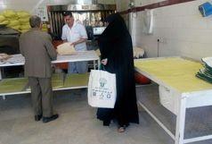 توزیع کیسه های پارچه ای حمل نان در الیگودرز برای اولین بار در لرستان
