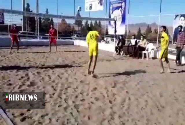 معرفی قهرمان سومین دوره مسابقات فوتوالی خراسان جنوبی
