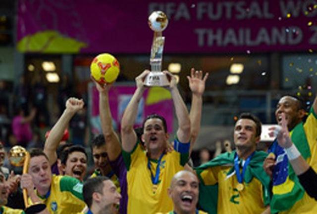 برزیل فاتح جام جهانی فوتسال شد