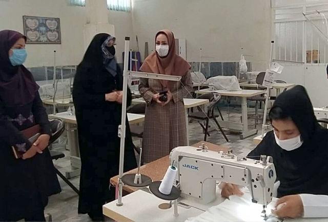 تولید ماسک سفره زنان کارآفرین سیستان و بلوچستان را رونق بخشیده است