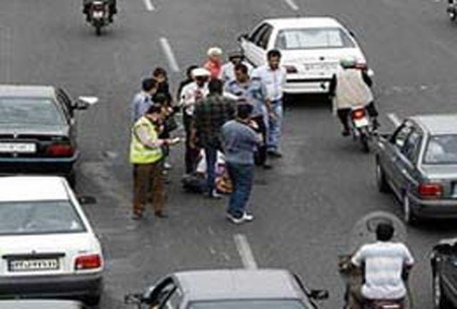 رانندگان موتور سیکلت و عابرین پیاده بزرگترین مقصران تصادفات مرگبار