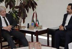 ملاقات سفیر ایران در برزیل با وزیر امنیت دولت برزیل