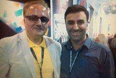 ابراهیم داروغهزاده تولد علی معلم را تبریک گفت