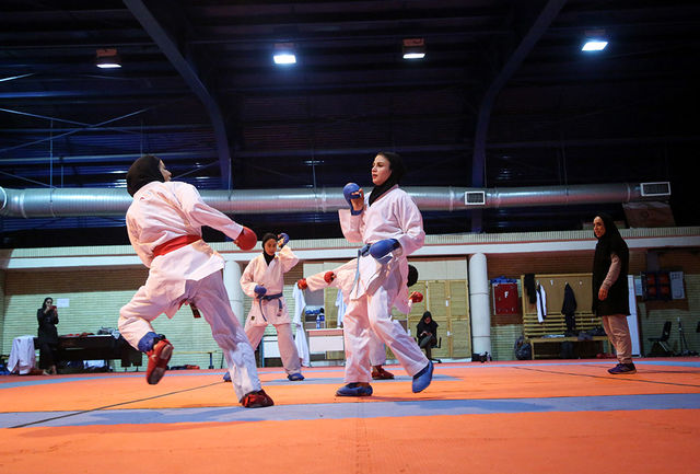 آغاز مسابقات بین المللی کاراته بانوان به میزبانی قم