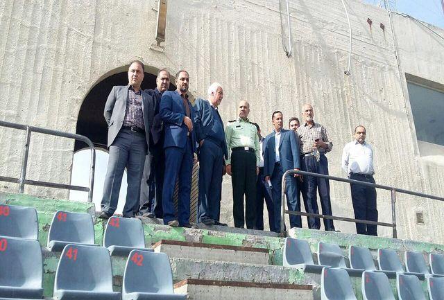 سردار رحیمی از استادیوم آزادی بازدید کرد